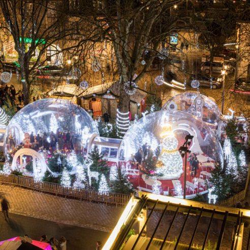 Village de bulles de la ville de Blois