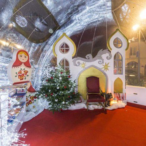 Décoration Festilight à Blois sur le thème Russe