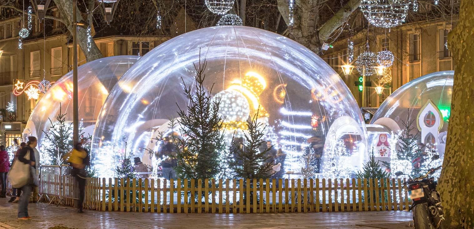 Les bulles magiques de la ville de blois par Festilight